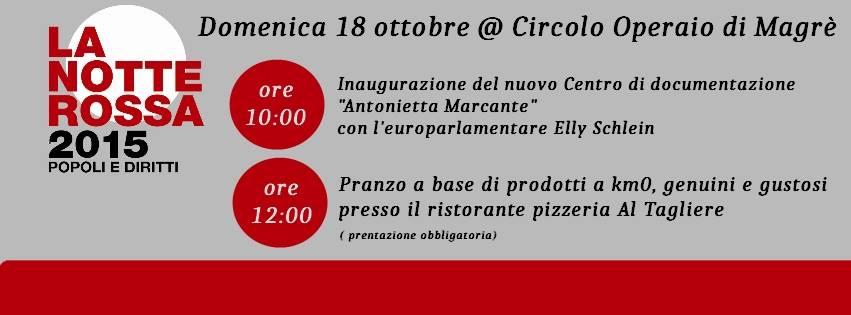 """Inaugurazione Centro di documentazione """"Antonietta Marcante"""""""
