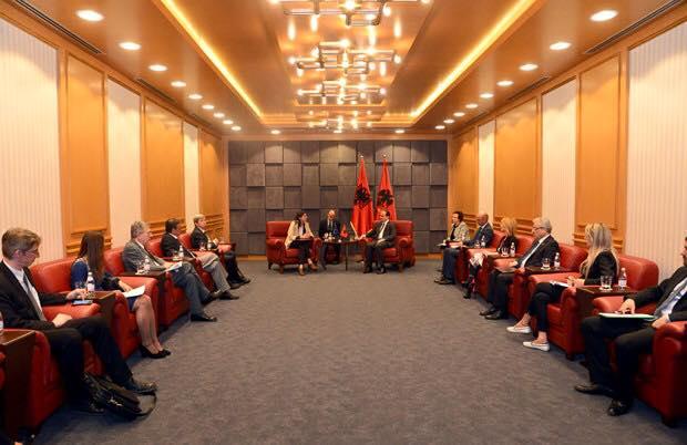 Missione della Delegazione alla Commissione Parlamentare di Stabilizzazione ed Associazione UE-Albania