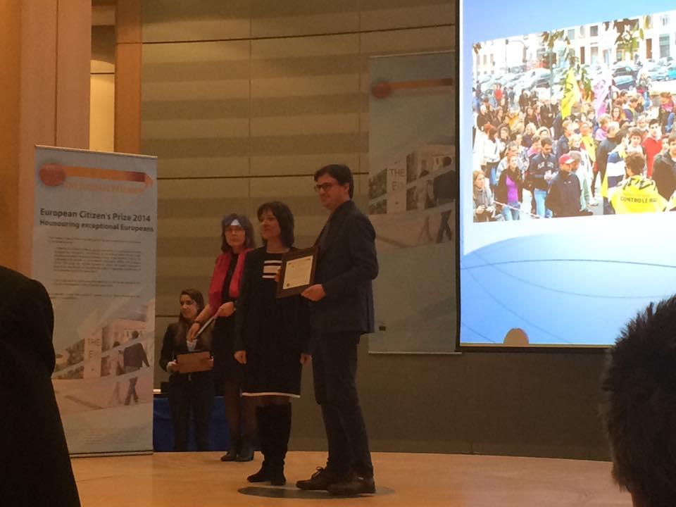 Premiazione Cittadini Europei 2015