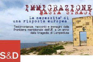 """""""Immigrazione – Basta Stragi"""". La necessità di una risposta Europea"""