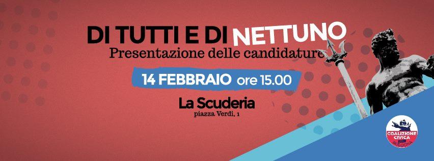 Di tutti e di Nettuno: presentazione candidature Coalizione Civica