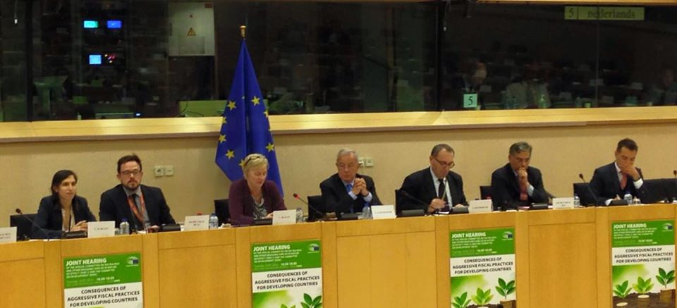 Audizione congiunta della commissione Sviluppo e della commissione TAXE