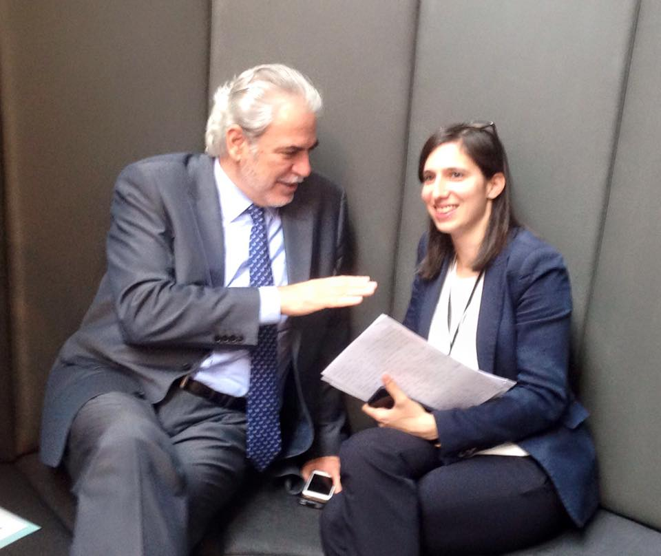 Incontro con il Commissario agli aiuti umanitari Christos Stylianides