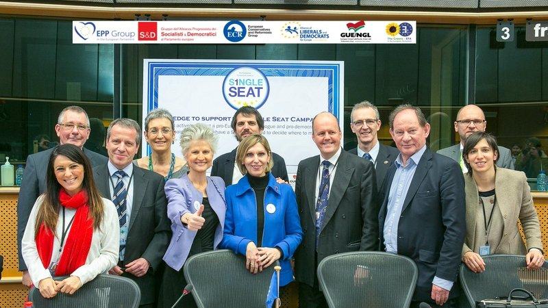 Single seat: la campagna per una sede unica del Parlamento Europeo