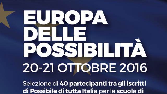 """Si apre la call per il percorso formativo """"Europa delle Possibilità""""!"""