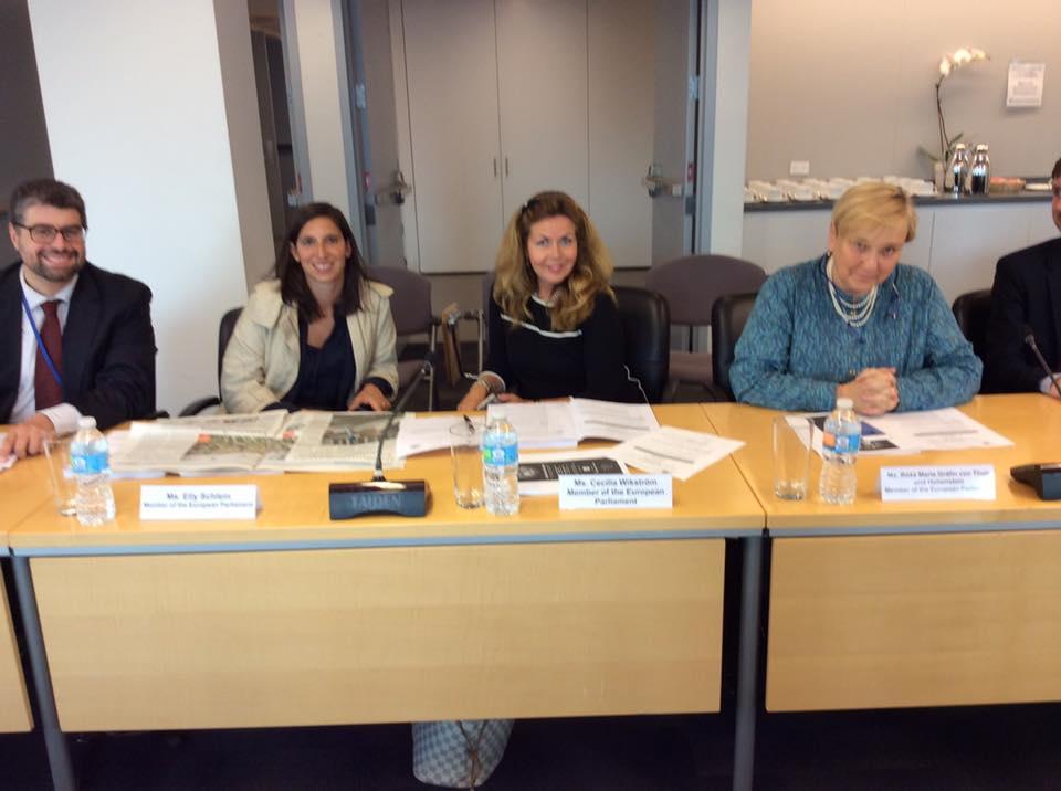 Da New York: meeting con l'Ambasciatore UE e il Commissario Frans Timmermans