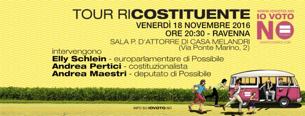 Tour Ricostituente a Ravenna