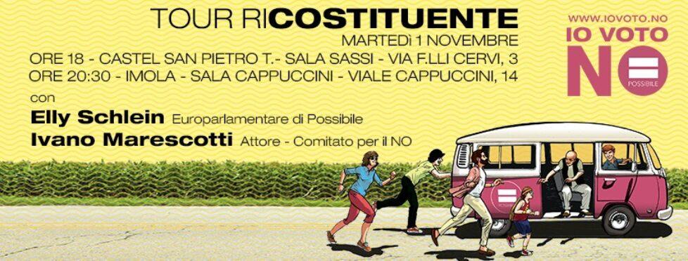 Tour RiCostituente Imola (Bo) con Ivano Marescotti
