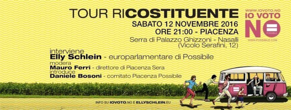 Tour Ricostituente a Piacenza