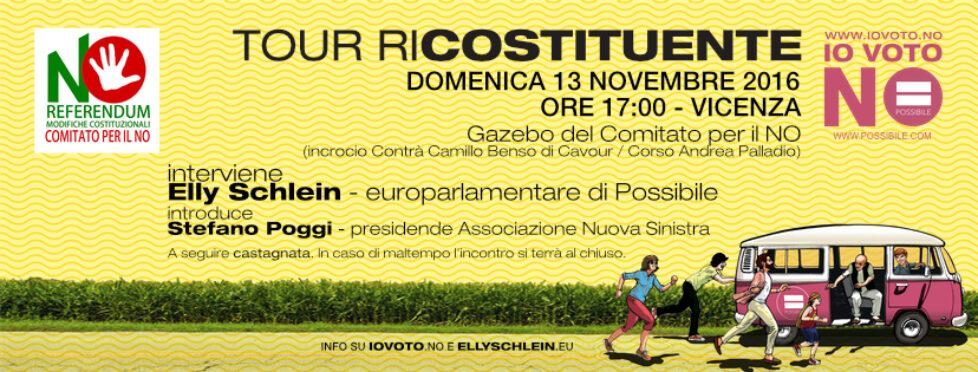 Tour Ricostituente a Vicenza