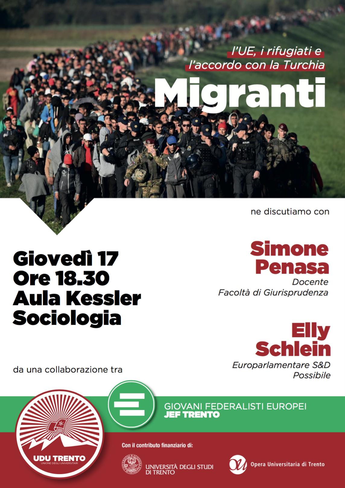 MIGRANTI - L'UE, i rifugiati e l'accordo con la Turchia