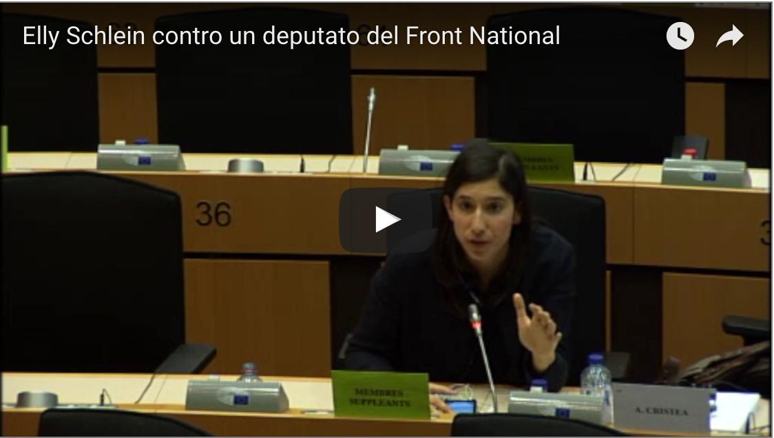 Il mio intervento in aula contro un deputato del Front National