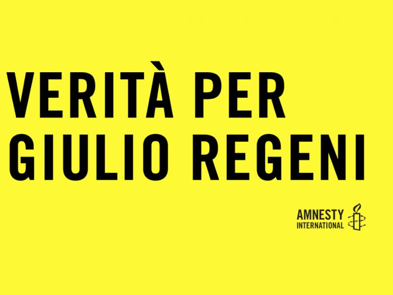 365 giorni senza Giulio Regeni. #veritàperGiulio