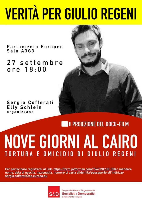 Nove giorni al Cairo. Tortura e omicidio di Giulio Regeni.