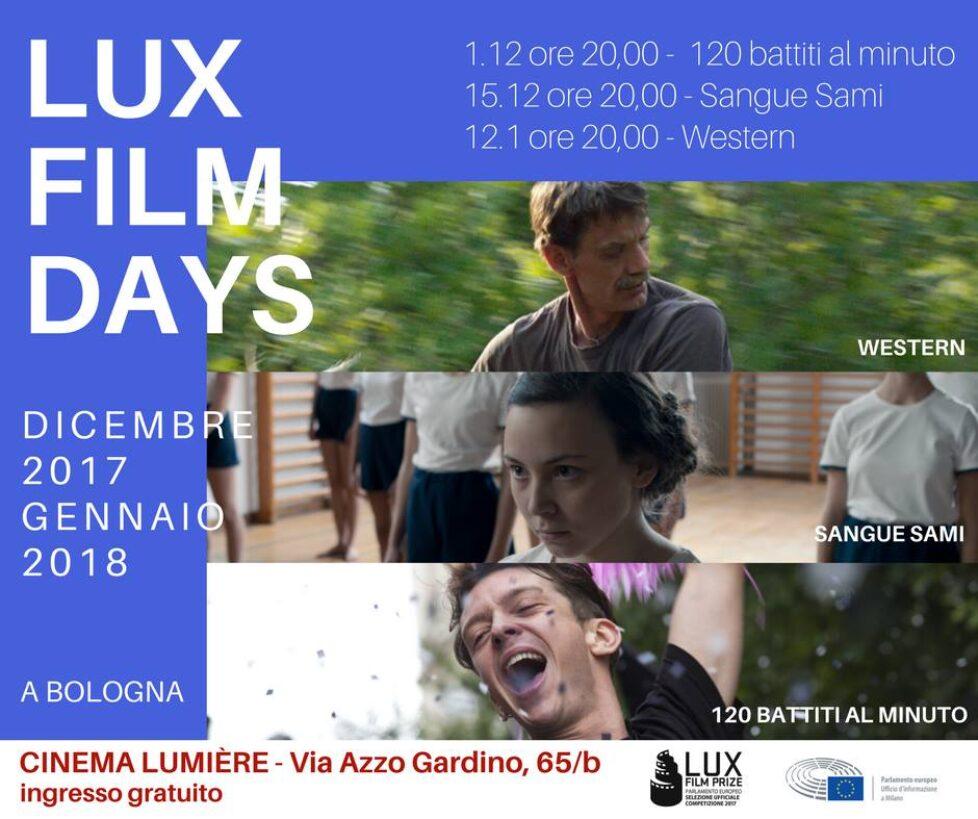LUX FILM DAYS 2017
