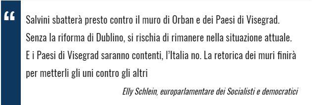 linkiesta.it – La folle alleanza Salvini-Orban sui migranti: loro vincono, noi perdiamo