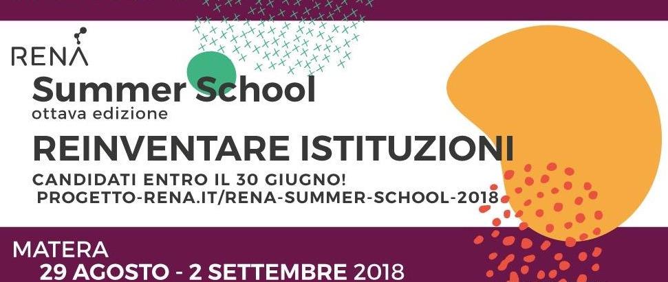 RENA Summer School 2018