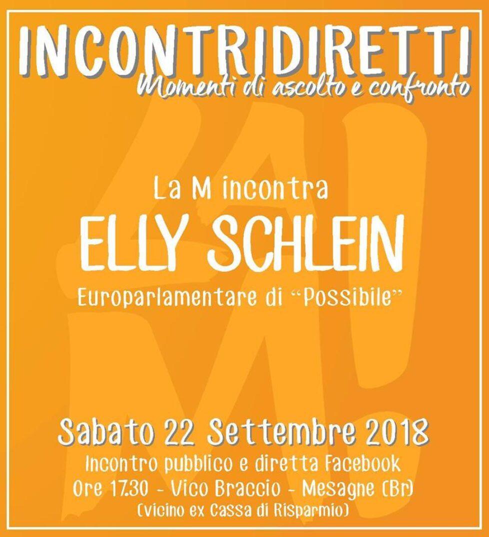 La M incontra Elly Schlein