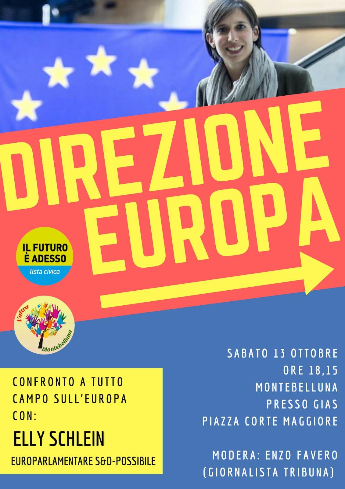 Direzione Europa - Montebelluna