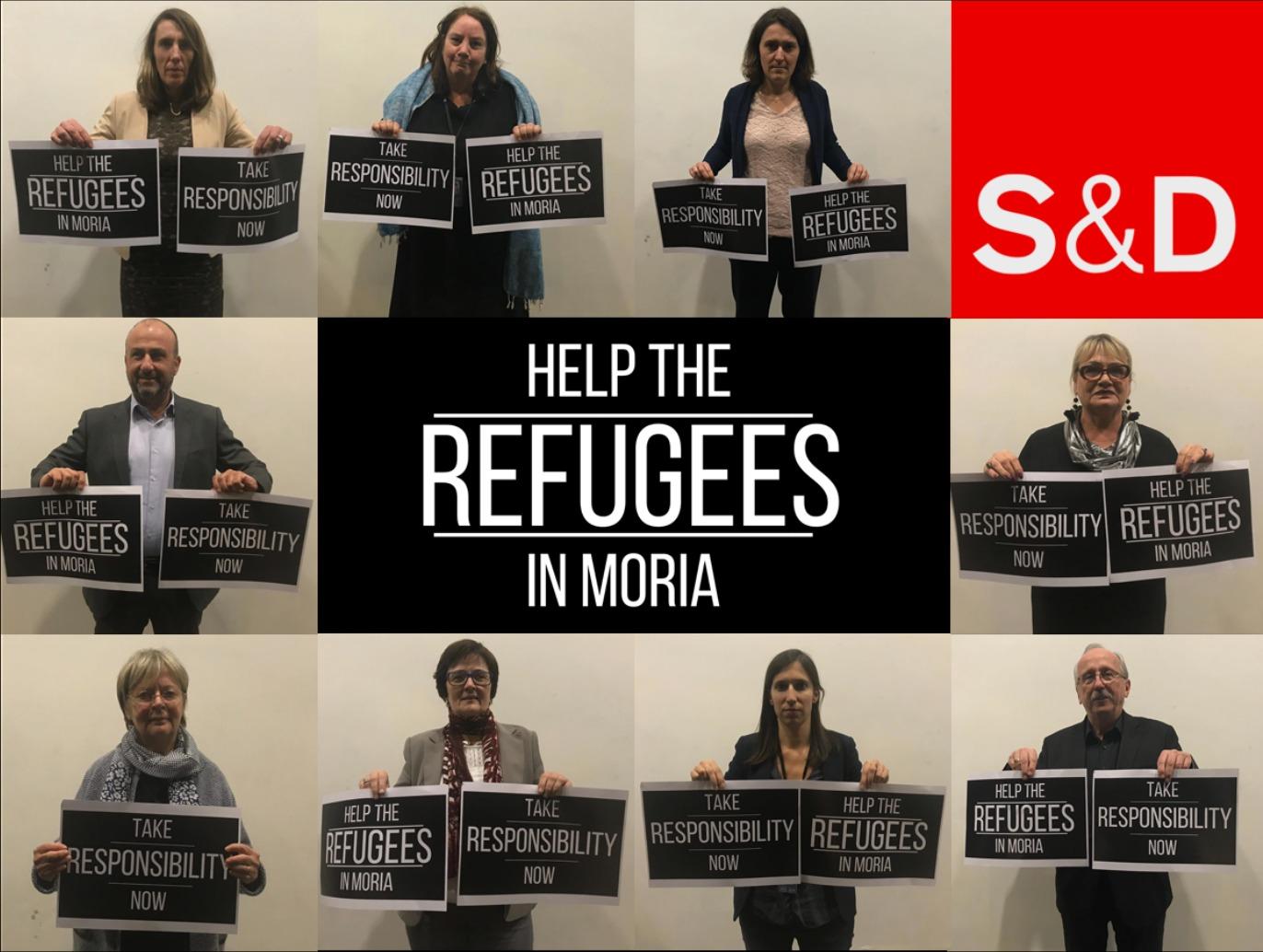 """Lettera urgente ai leader europei: """"Aiutate i rifugiati a Moria"""""""
