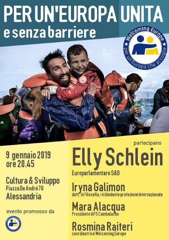 Per un'Europa Unita e senza barriere
