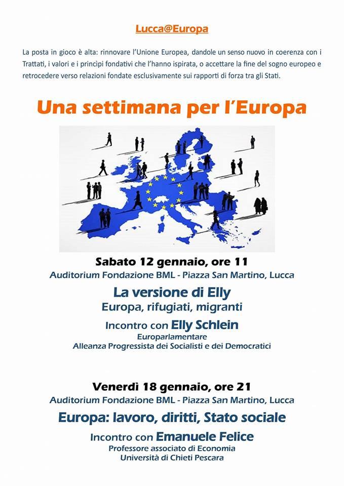 La versione di Elly - Europa, rifigiati, migranti