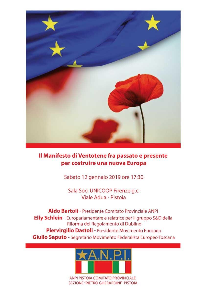 Dal Manifesto di Ventotene al progetto di una nuova Europa
