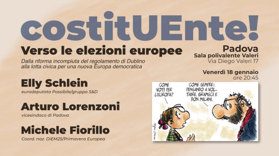 CostitUEnte! – Verso le elezioni europee