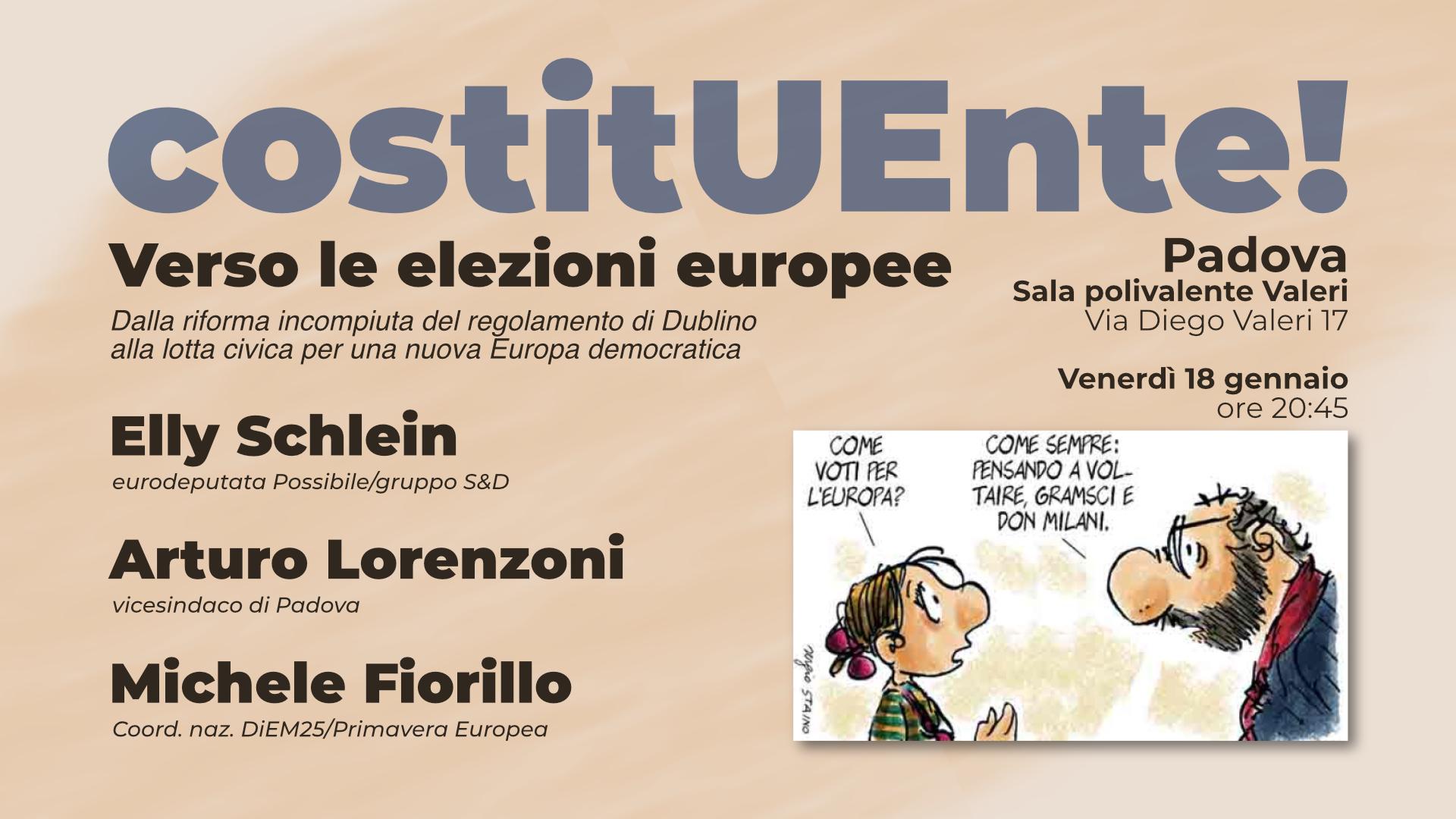 CostitUEnte! - Verso le elezioni europee