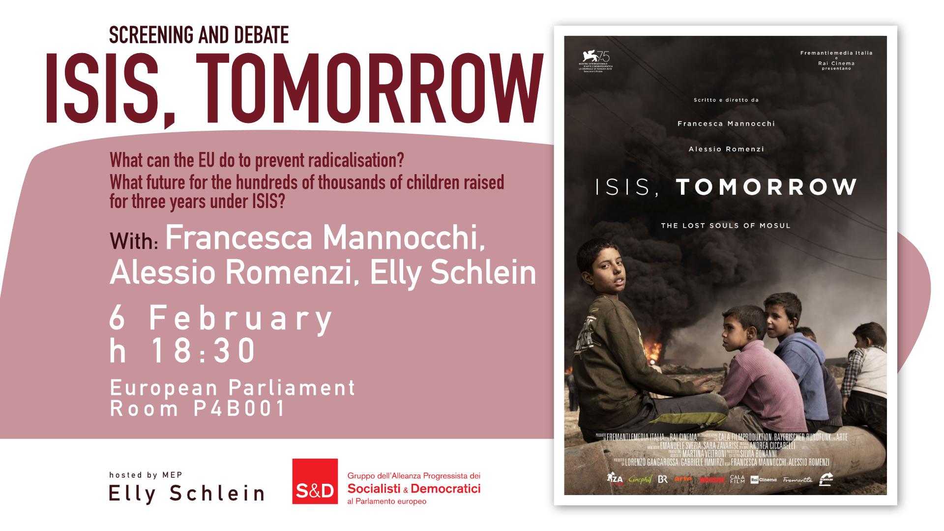 Isis, Tomorrow - Screening and Debate