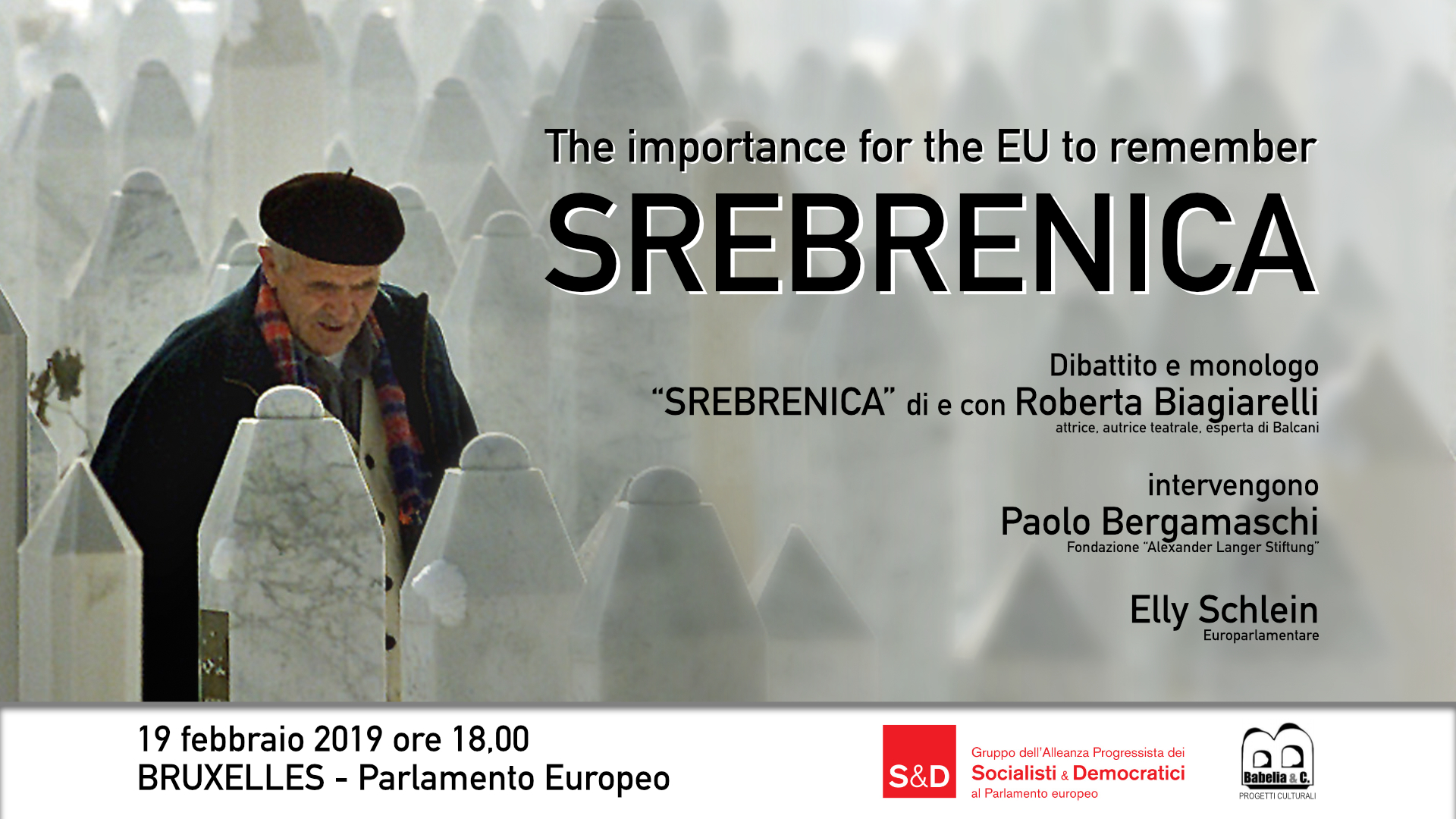 Srebrenica - The importance for EU to remember