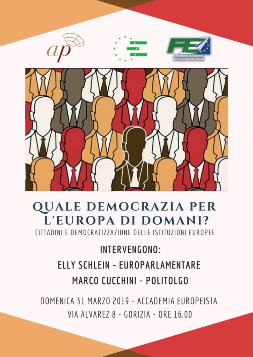 Quale democrazia per l'Europa di domani?