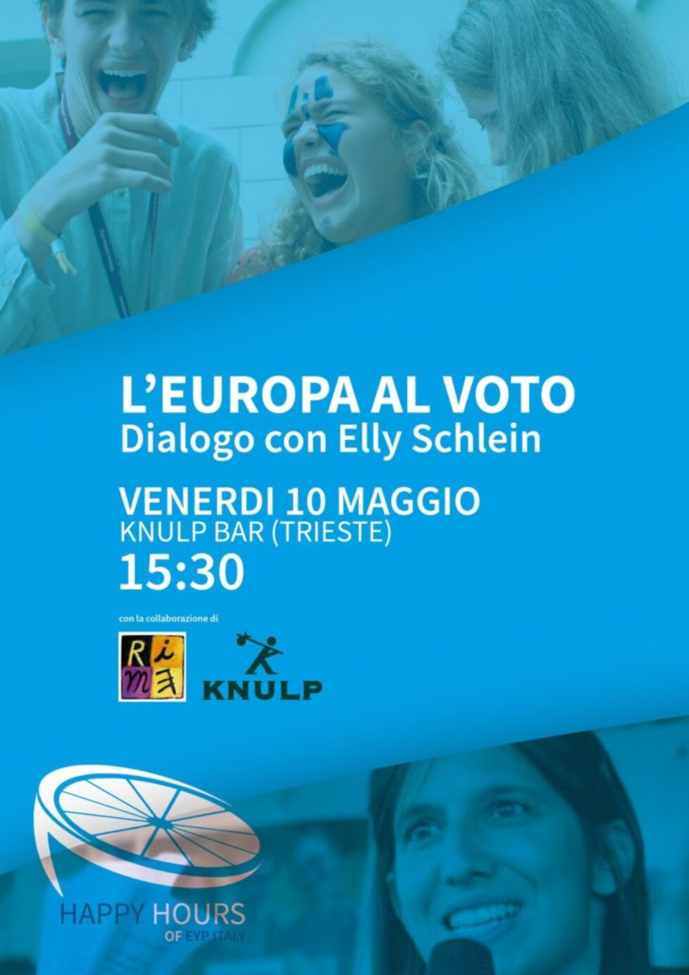 EYP Happy Hour – L'Europa al voto, con Elly Schlein – Trieste