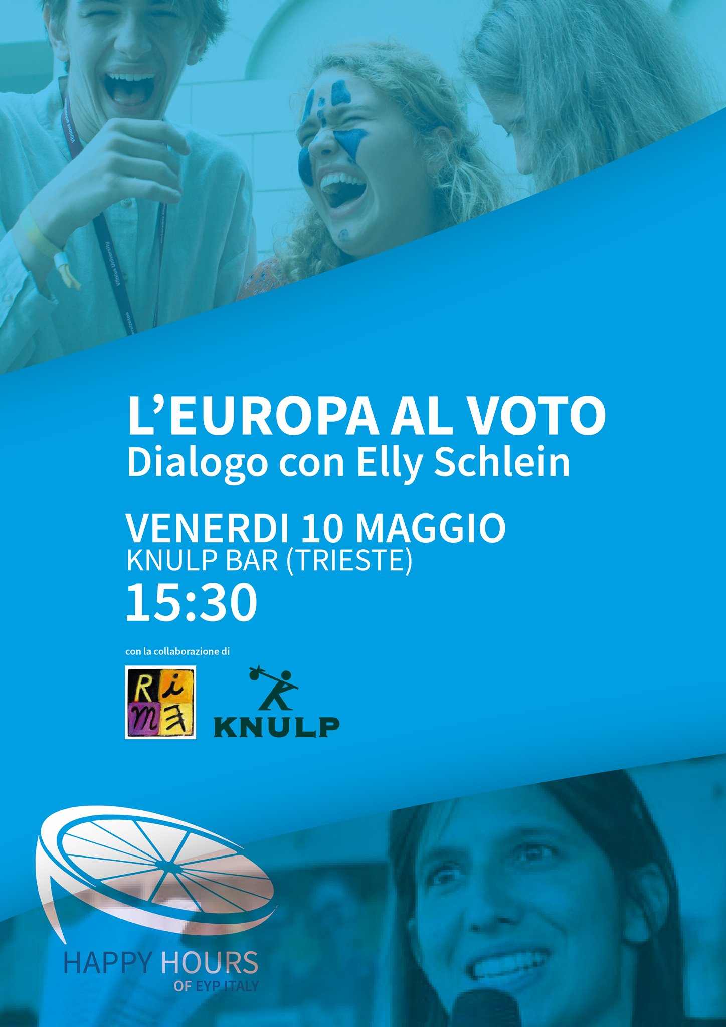 EYP Happy Hour - L'Europa al voto, con Elly Schlein - Trieste