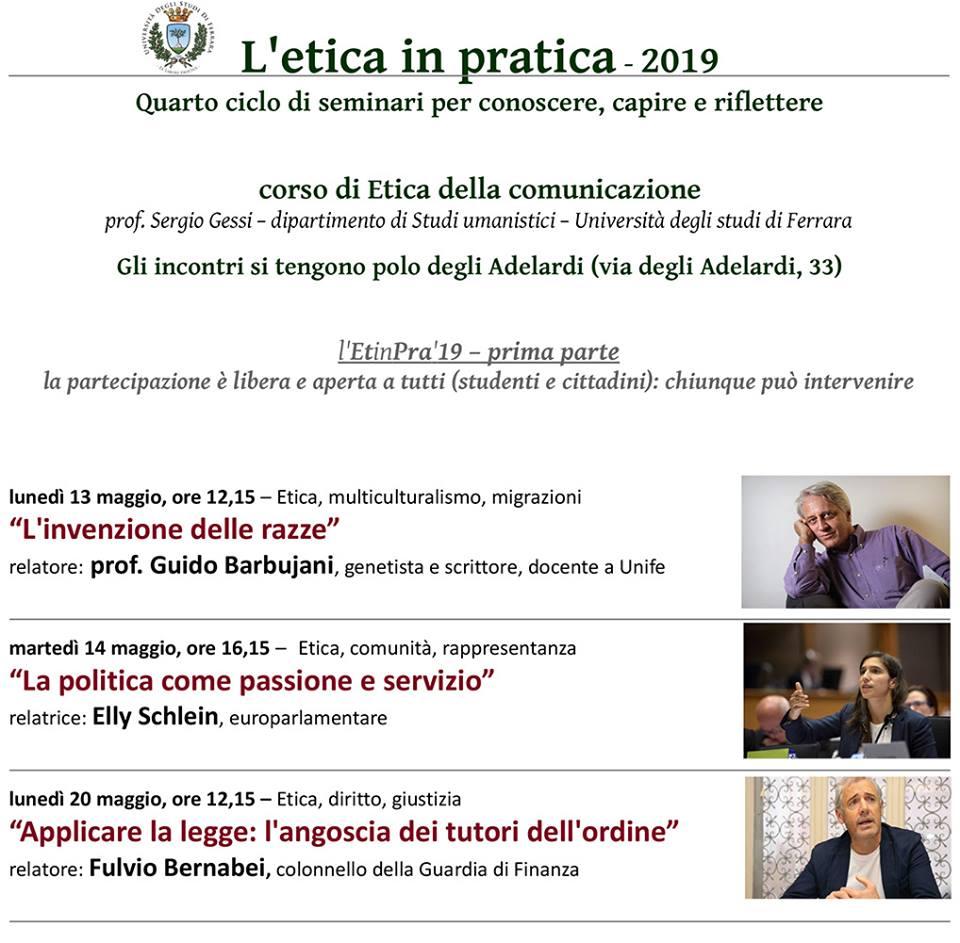 Politica come passione e servizio - L'Etica in pratica