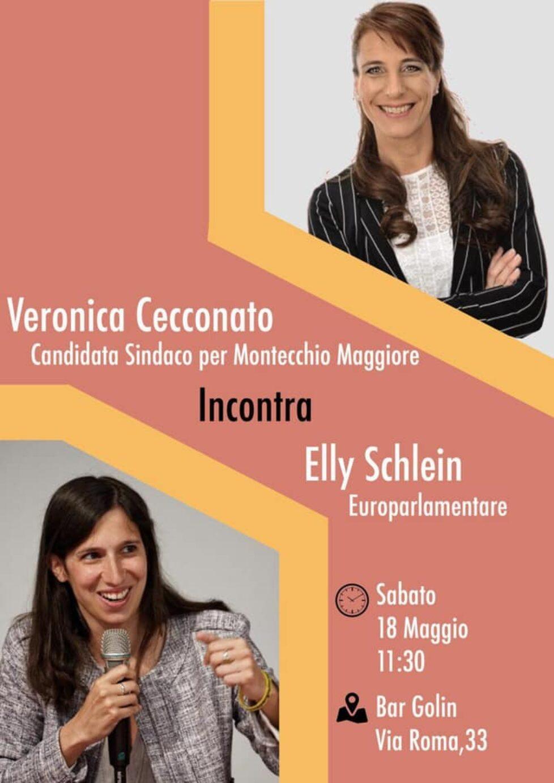 Veronica Cecconato incontra Elly Schlein