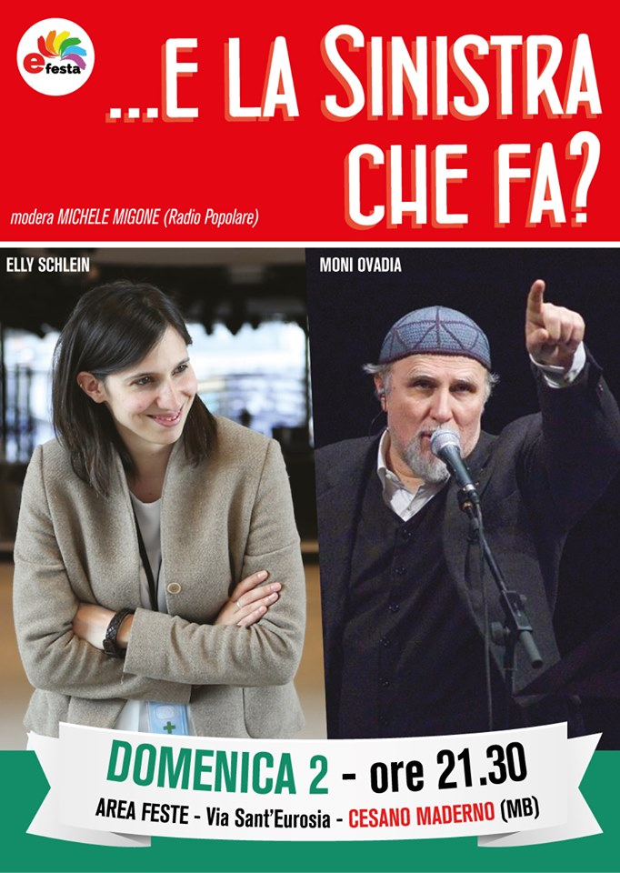 È Festa! 2019 Cesano Maderno | 7° Festa della Sinistra