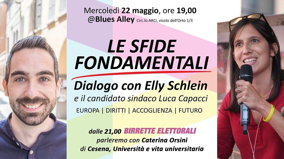 Le sfide Fondamentali: dialogo con Elly Schlein