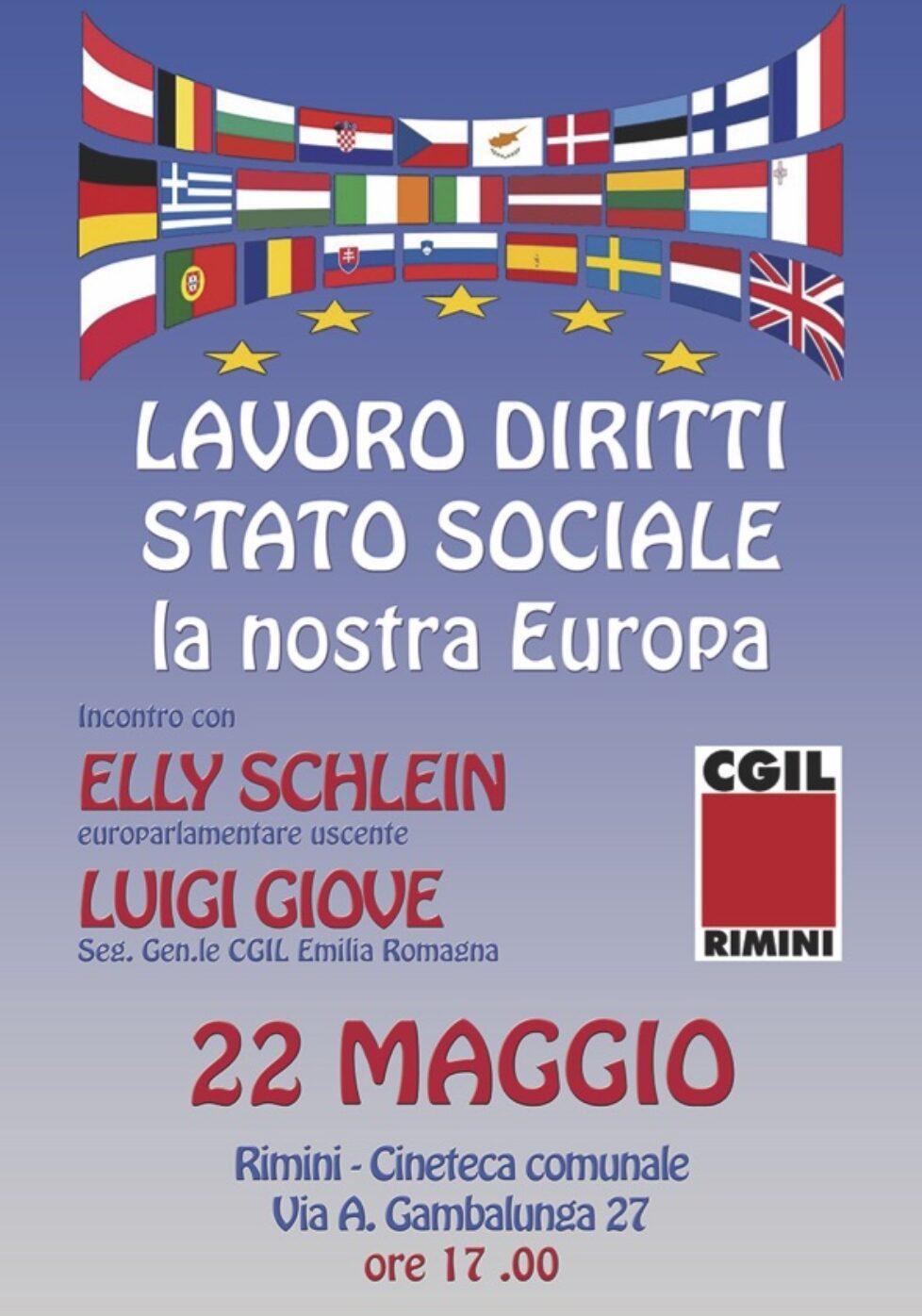 LAVORO DIRITTI STATO SOCIALE – La nostra Europa