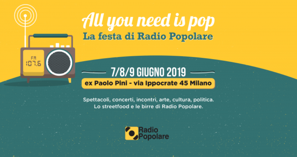 All you need is Pop 2019
