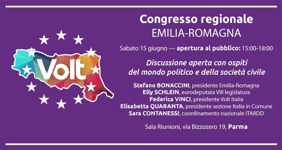 Volt - Congresso regionale Emilia-Romagna
