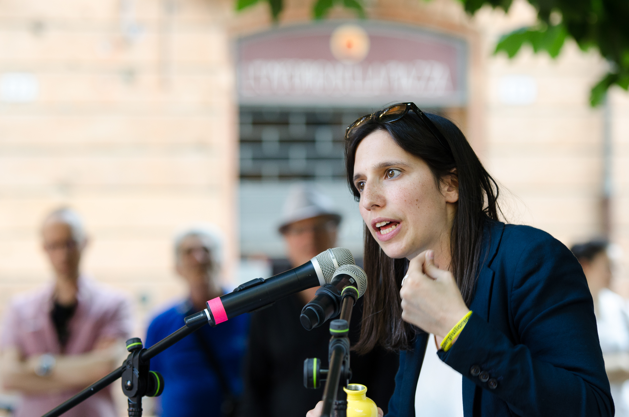 Elly Schlein a Ferrara – 3 giugno 2019