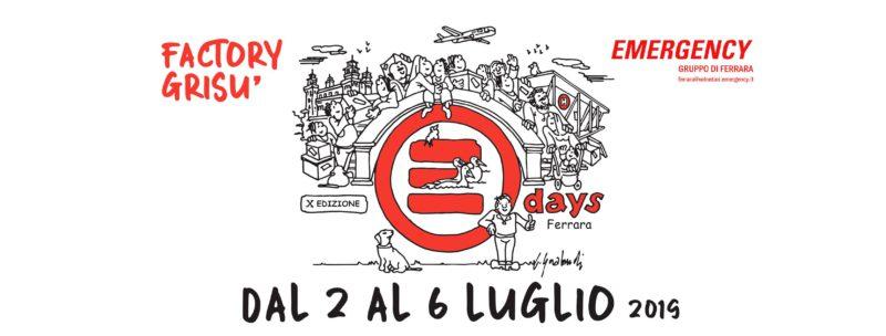 EMERGENCY Days Ferrara - CI AVETE ROTTO I POLMONI