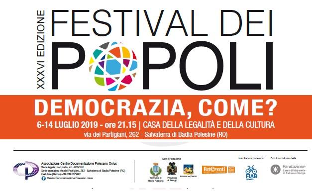 Festival dei Popoli 2019 - Europa: cosa ci insegnano le donne su come democratizzare l'Ue