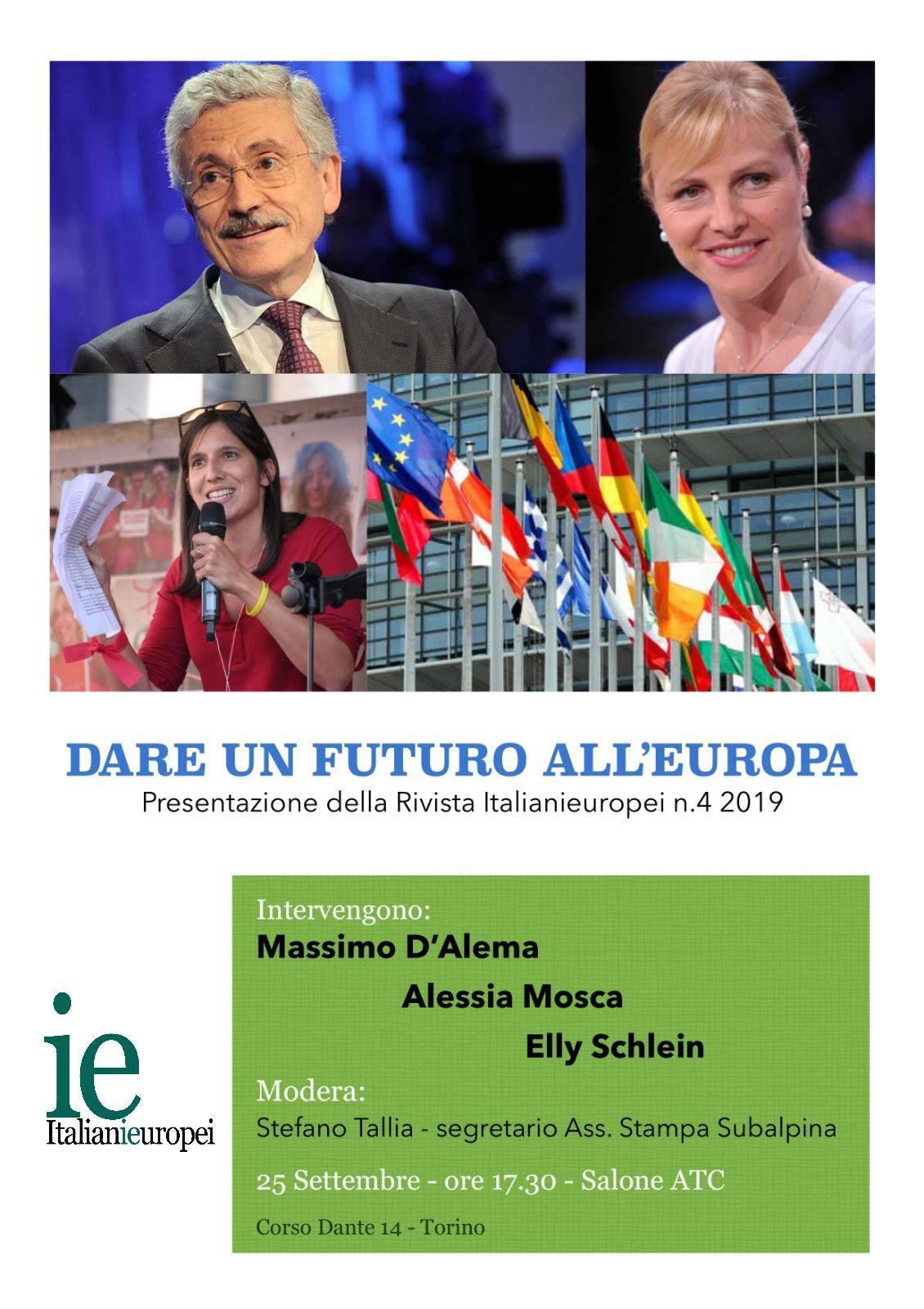 Dare un futuro all'Europa