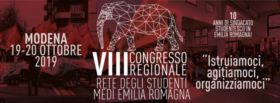 VIII CONGRESSO REGIONALE – Rete degli Studenti Medi dell'Emilia Romagna