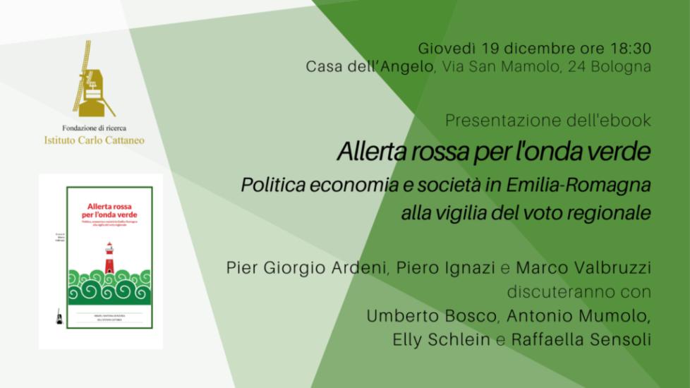 """Presentazione dell'e-book """"Allerta rossa per l'onda verde"""""""