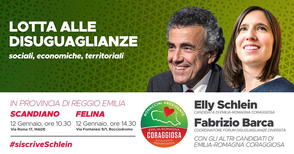 Lotta alle diseguaglianze - Con Elly Schlein e Fabrizio Barca
