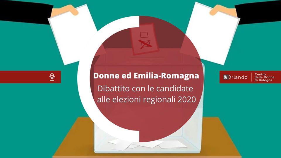Donne ed Emilia-Romagna: dibattito con le candidate