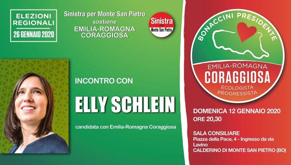 Incontro con Elly Schlein a Calderino di Monte San Pietro